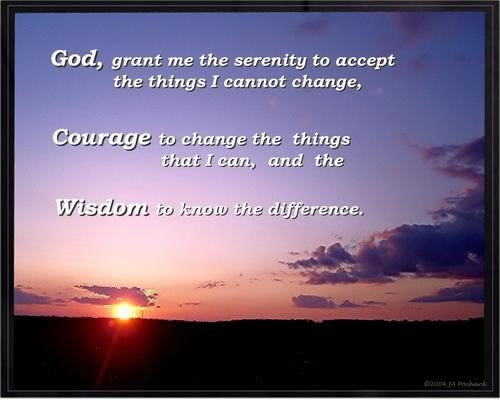 How to 'Know the Difference' in the Serenity Prayer | Louise Behiel